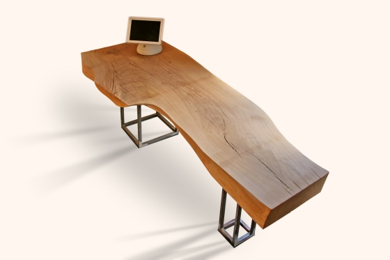 Bureau in massief hout